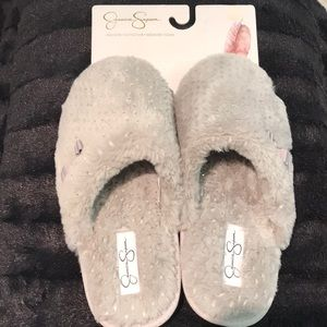 Jessica Simpson In & Outdoor Memory Foam Slipppers